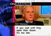 Bill Hanson on CNN